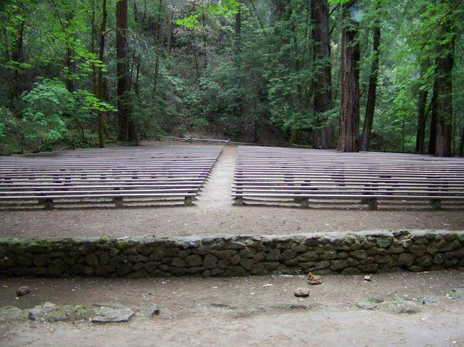 Forest Theater at Armstrong Redwoods, Guerneville, CA